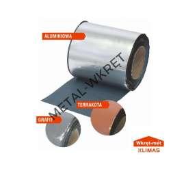 TDBA 75mmx10mb Butylowa taśma dekarska aluminium / 1szt