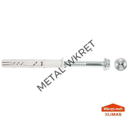 KPR-FAST 14x160K Kołek ramowy z łbem sześciokątnym  / 25szt.