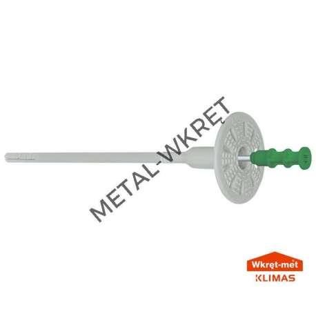 WKTHERM-S  Kołek do styropianu i wełny-metal, wkręcany